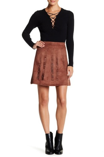 https://www.nordstromrack.com/shop/product/1919462/romeo-juliet-couture-faux-suede-laser-cut-mini-skirt?color=AZTEC
